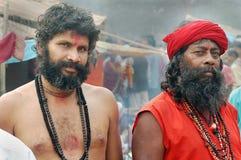 Hindu Sadhu in India Royalty Free Stock Photos