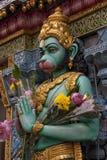 Hindu Sculpture. Singapore - Sri Krishna Hindu temple on Waterloo Street Royalty Free Stock Image