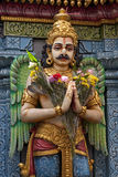Hindu Sculpture. Singapore - Sri Krishna Hindu temple on Waterloo Street Royalty Free Stock Photography