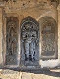 Hindu sculpture, Bellur, India Stock Photos