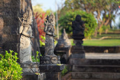 Hindu sculptures Banjar temple Royalty Free Stock Images