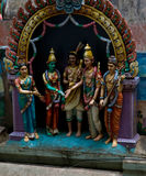 Hindu shrine Royalty Free Stock Photos