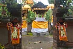 Hindu shrine in bali Stock Images