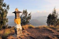 Hindu Shrine at Bromo Tengger on Java, Indonesia Stock Photos