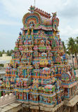 HINDU SRIRANGAM TEMPLE Stock Photo