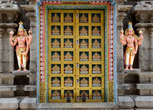 HINDU SRIRANGAM TEMPLE Royalty Free Stock Photos
