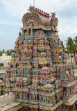 HINDU SRIRANGAM TEMPLE Stock Photo