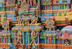 HINDU SRIRANGAM TEMPLE Stock Photos
