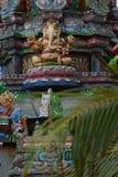 Hindu statue. Old Ganesha statue in a temple in Trincomalee (Sri Lanka Stock Photos