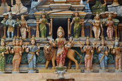 Hindu statues Stock Photography