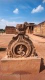 Hindu Stone art, preserved in Pattadakal temple, India Stock Image