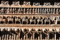 Hindu Stone Carvings Stock Images