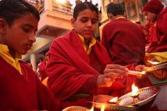 Hindu students Stock Photography