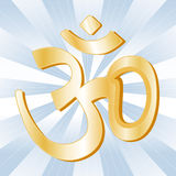 Hindu Symbol Royalty Free Stock Photo