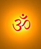 Hindu symbol Stock Photo