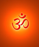 Hindu symbol Royalty Free Stock Photography