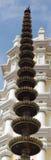 Hindu temple. Goa - India. Light tower Stock Images