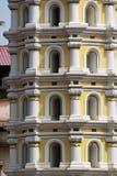 Hindu temple. Goa - India. Tower of lights Stock Photos