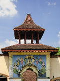 Hindu Temple. Entrance of a hindu temple in Kandy, Sri Lanka Royalty Free Stock Photos