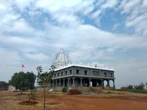 Hindu temple. A Hindu temple Stock Image