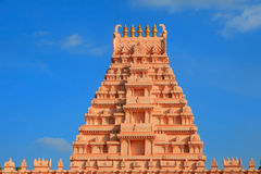 Hindu temple arcitecture Stock Photos
