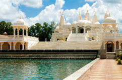 Hindu temple in Atlanta, GA Stock Photo