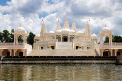 Hindu temple in Atlanta, GA Royalty Free Stock Photo