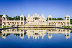 Hindu Temple in Atlanta Royalty Free Stock Photos