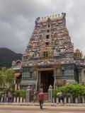 Hindu temple attraction Seychelles Stock Image