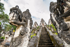 Hindu temple on Bali Stock Photos