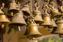 Hindu temple bell Royalty Free Stock Photo