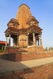 Hindu Temple at Bhaktapur Durbar Square, Nepal Stock Image