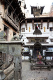Hindu Temple at Bhaktapur Durbar Square, Nepal Royalty Free Stock Images
