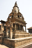 Hindu temple at Bhaktapur Durbar Square, Nepal Royalty Free Stock Photos