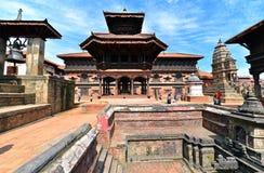 Hindu temple in Bhaktapur, Nepal Royalty Free Stock Photo