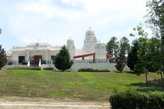 Hindu temple. In Cary, North Carolina Stock Photo