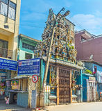 The Hindu Temple in Colombo Stock Image
