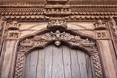Hindu temple decor Royalty Free Stock Photos