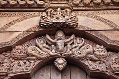 Hindu temple decor Stock Images