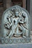 Hindu temple decor Royalty Free Stock Photography