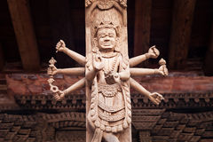 Hindu temple decor Stock Images