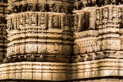 Hindu Temple detail section Royalty Free Stock Photos