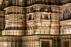 Hindu Temple detail section Royalty Free Stock Photography