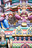 Hindu Temple Details Royalty Free Stock Photography
