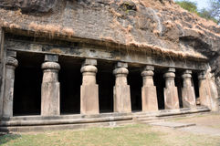 Hindu Temple, Elephanta Island, Mumbai (India) Royalty Free Stock Image