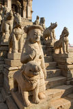 Hindu temple entrance Royalty Free Stock Photos