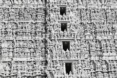 Hindu Temple Facade Royalty Free Stock Photography