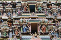 Hindu temple  figure Stock Photography