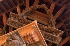 Hindu temple framework detail Royalty Free Stock Photo