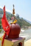 Hindu temple of god Shiva Stock Photo